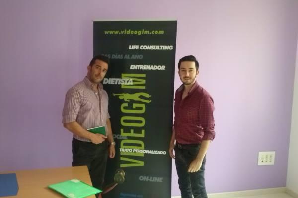 Charla MasterClass de Blas Herrador fundadores de Videogim